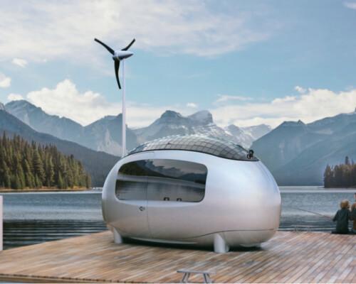 Ecocapsule off grid tiny house