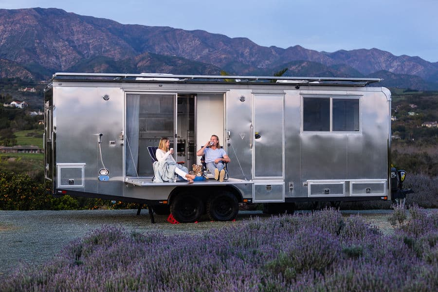 Exterior of the Living Vehicle Off Grid Tiny House
