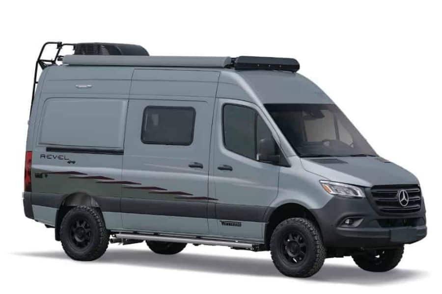 Best campervans with bathrooms #1: Winnebago Revel