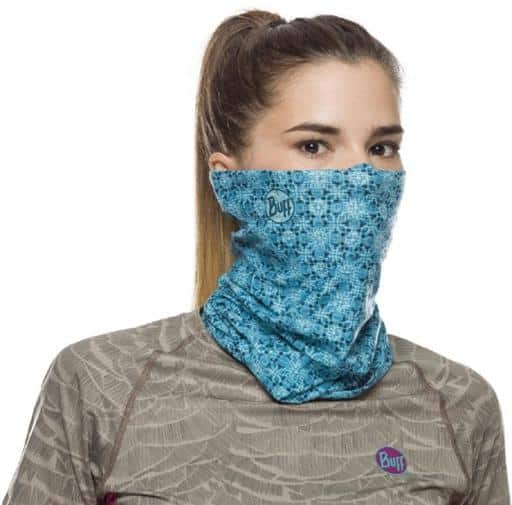 Buff to cover face is good to wear sailing