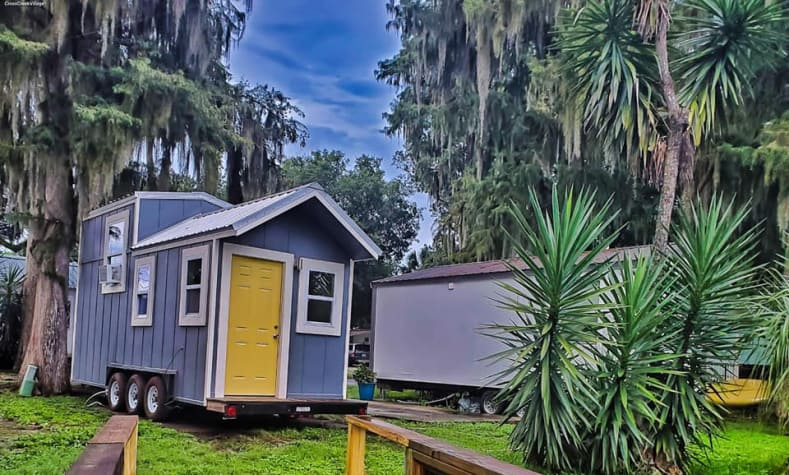 Cross Creek Village rent to own tiny home