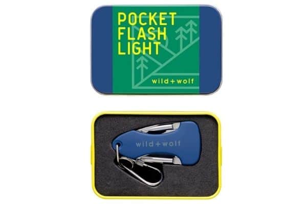 Pocket flashlight in case Best gifts for RV owners idea