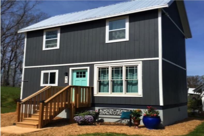 You'll Never Believe the Interior of this Tuff Shed Tiny House