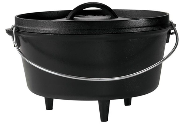 Dutch Oven campfire cooking tool