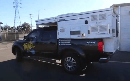 Four Wheel Campers Swift Slide In Camper for Small Trucks