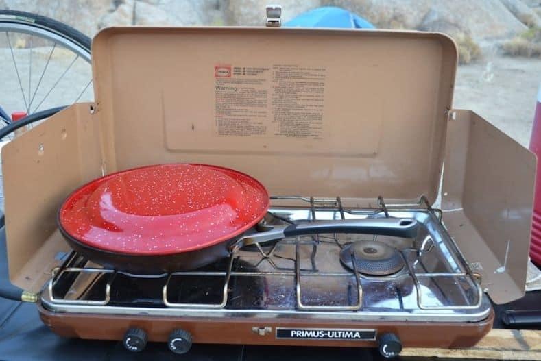 Truck Camper Accessories - camp stove PC Tucker Ballister