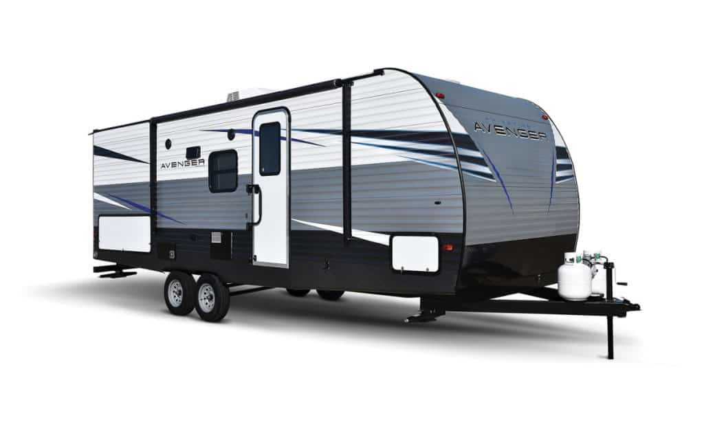 Avenger 2 bathroom travel trailer