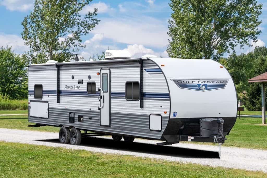 Gulf Stream Travel Trailer with two bathrooms