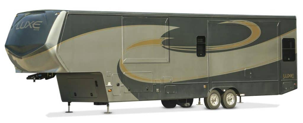 Luxe Elite Travel Trailer with 2 bathrooms