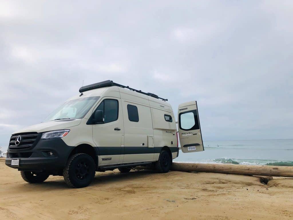 Winnebago Revel is a good 4x4 camper van rental for road trip