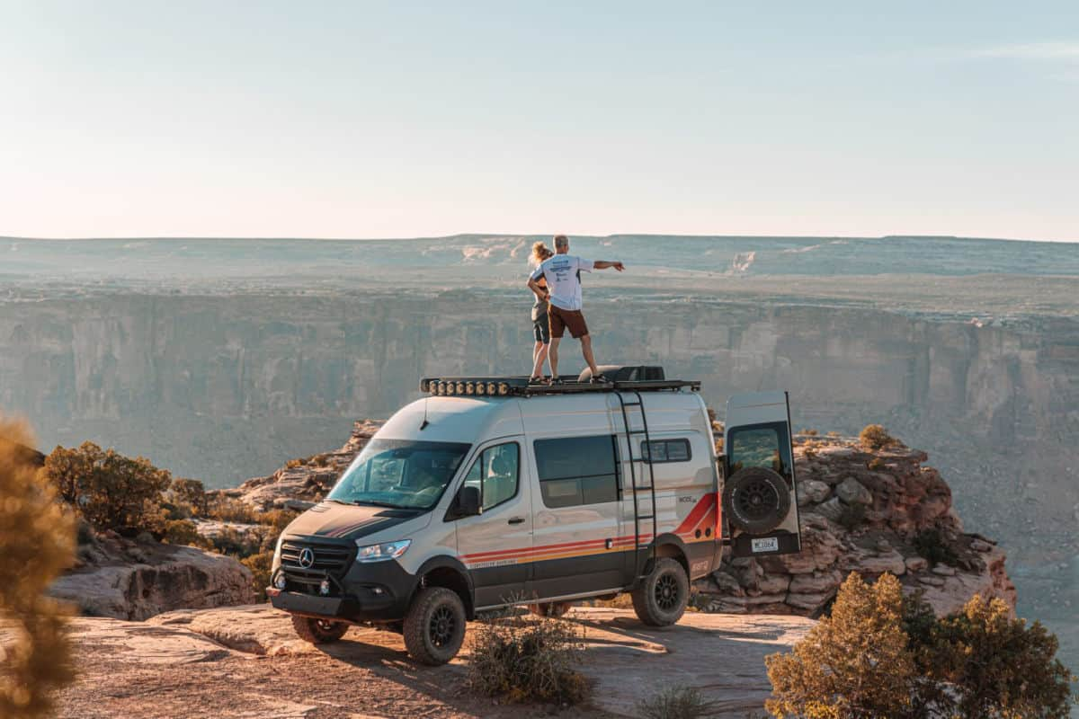 4x4 Camper Vans To Get You Off Road And Overlanding In 2021