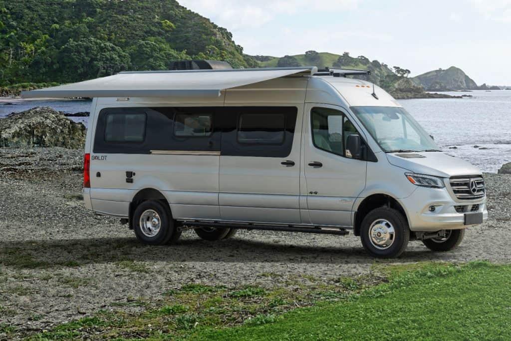 Winnebago Boldt luxury 4x4 camper van