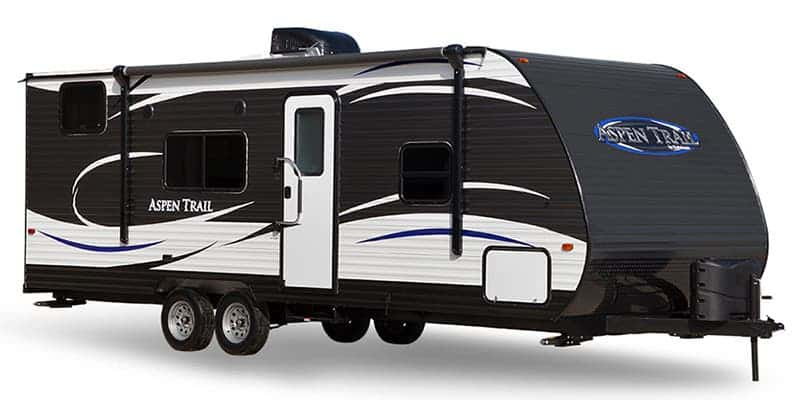 Exterior of the Dutchman best 4 season travel trailer