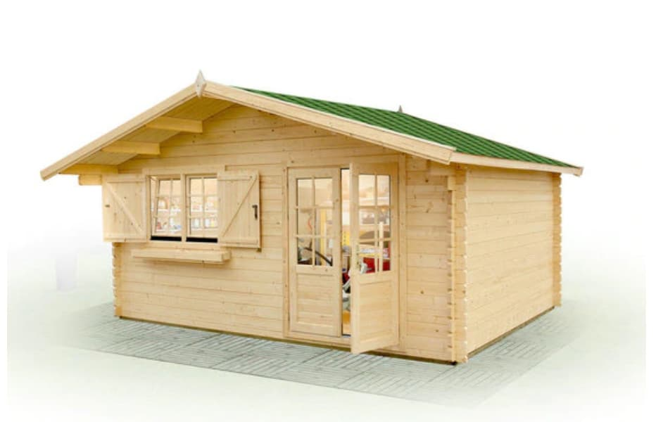 Wooden tiny house kit under $10,000