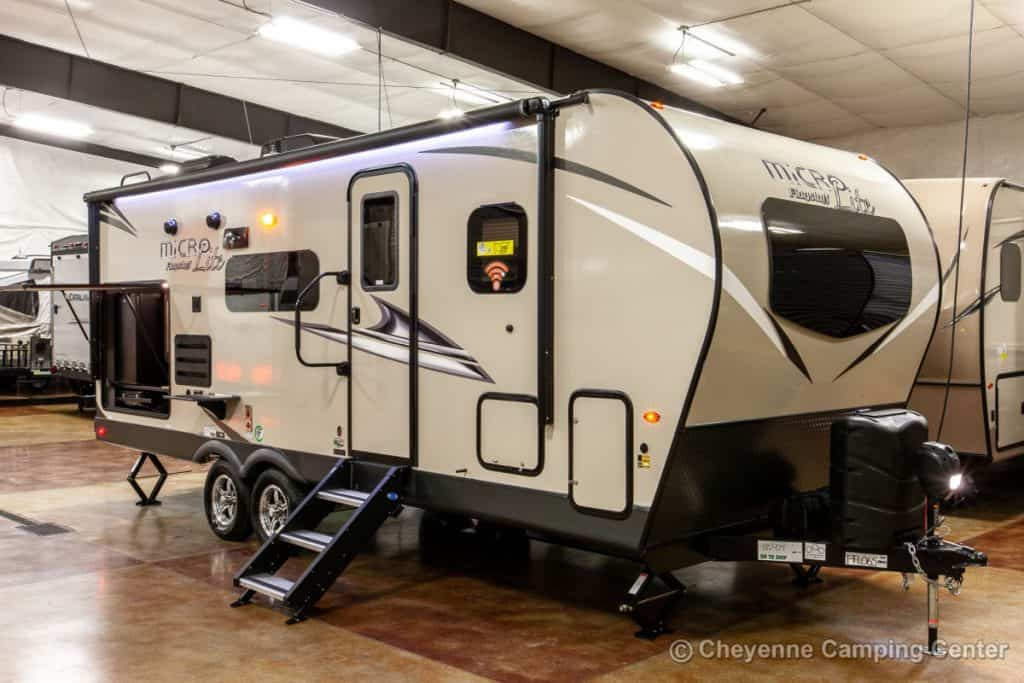 Micro Lite travel trailer under 6000 lbs