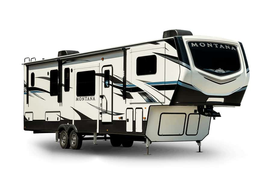 Keystone Exterior best 4 season travel trailer