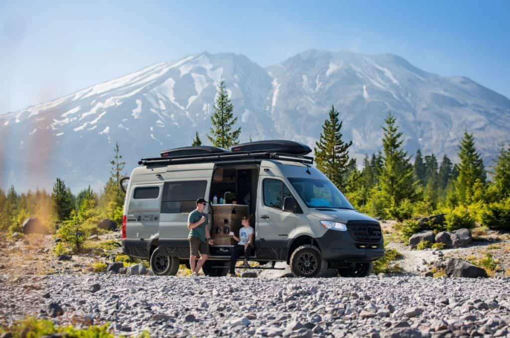 Outside Van 4x4 camper van for sale