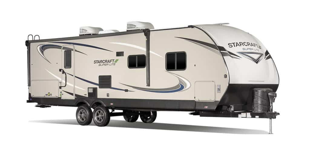 Exterior of the Starcraft 6000 lbs camper