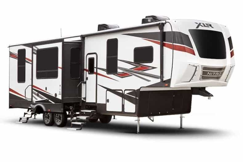 Forest River Nitro XLR 405 exterior view