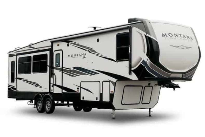 Best Fifth Wheel Toy Hauler For Full-Time Living: Montana High Country exterior view
