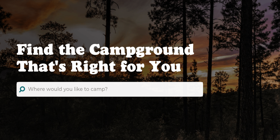 Campsite Search Engine in The Dyrt App Review