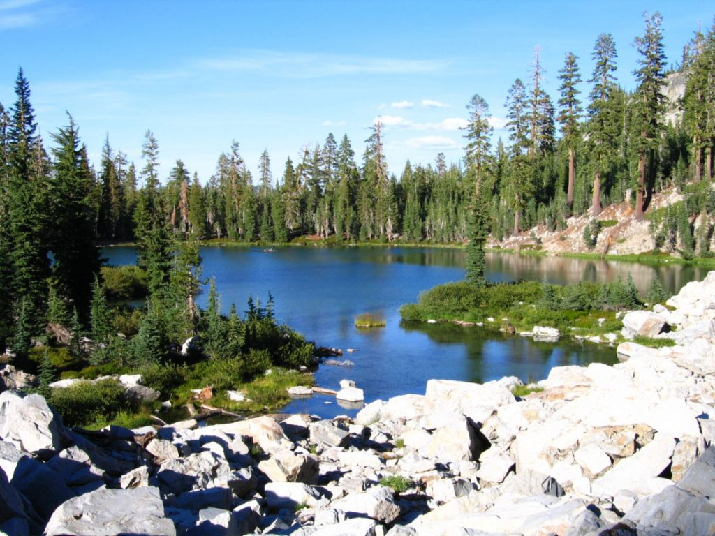 A lake in Lassen national park