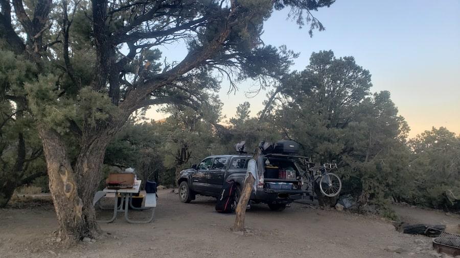 Mahogany Flat Campground PC Tucker Ballister