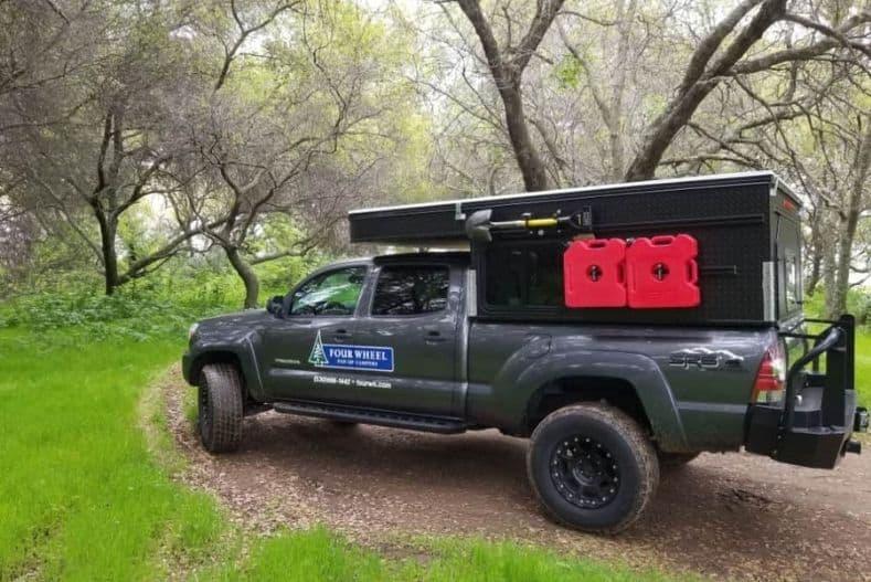 Project M mini truck camper