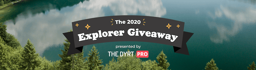 The Dyrt App Review Explorer Contests_Banner