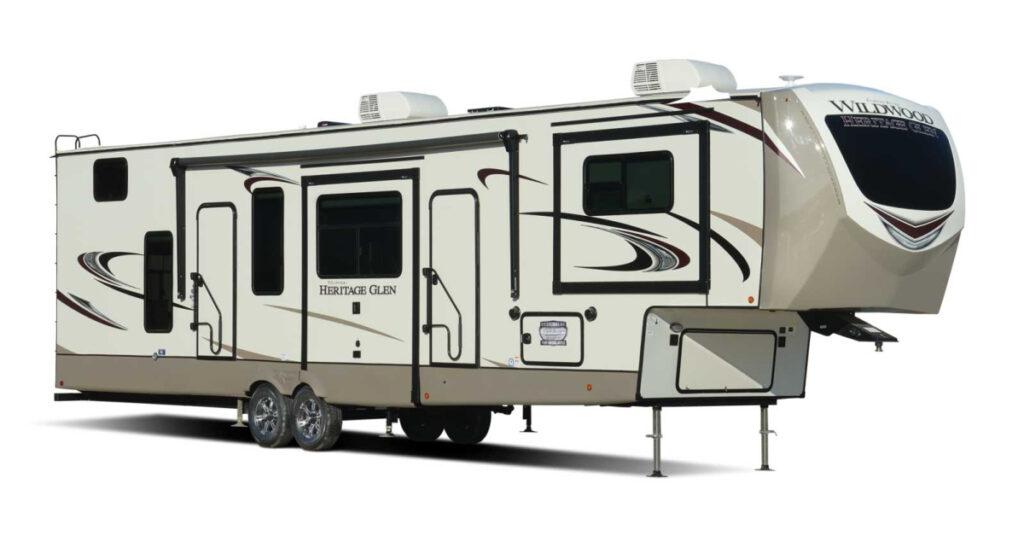 Keystone Cougar fifth wheel RV for family of 4