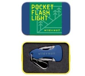 Wild + Wolfe Pocket Flashlight Tool