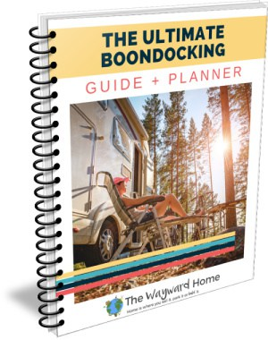Ultimate Boondocking Guide & Planner