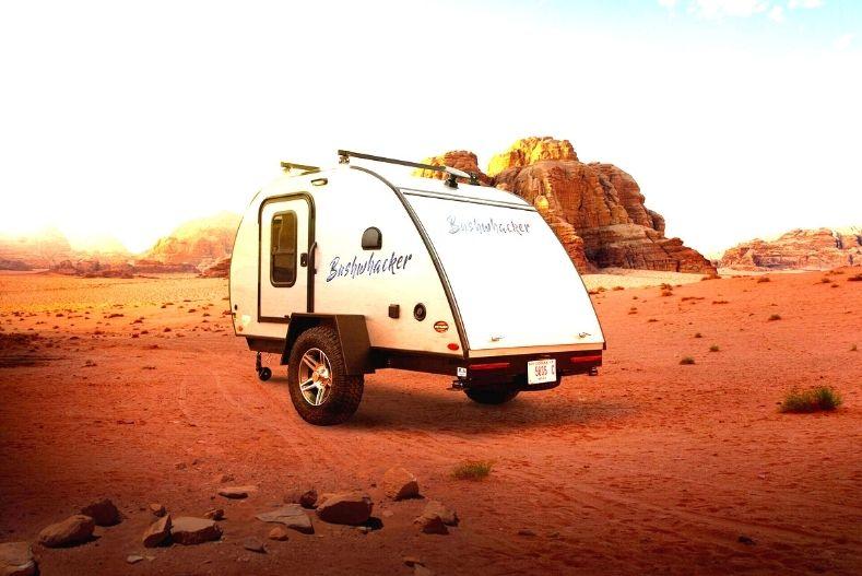 Bushwhacker from Braxton Creek parked in desert