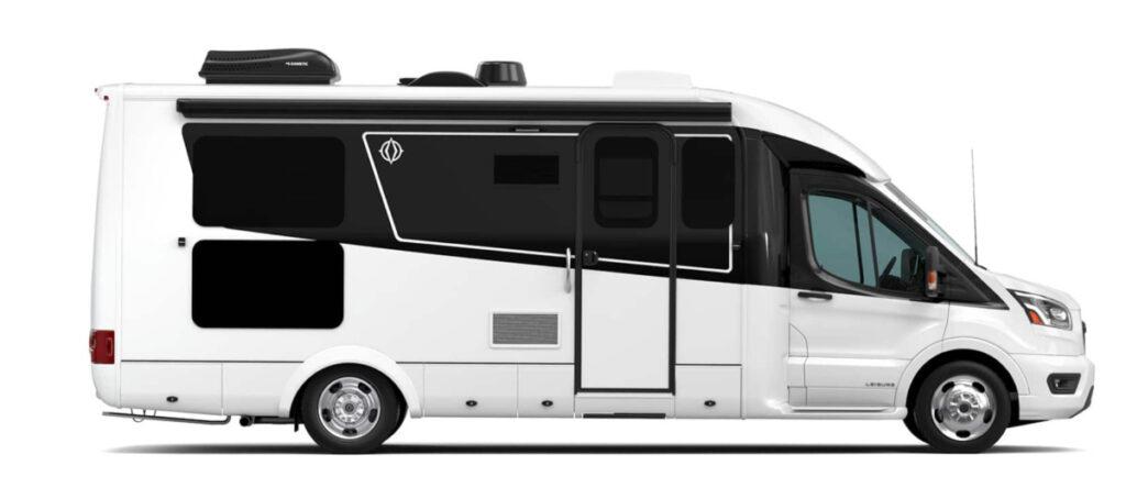 Leisure Travel Van smallest RV with a bathroom