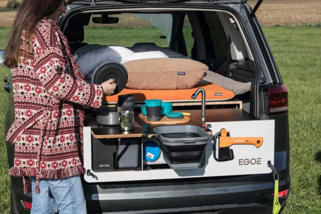 Nestbox is perfect for an NV200 camper