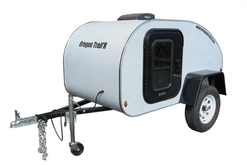 Oregon trail affordable travel trailer exterior