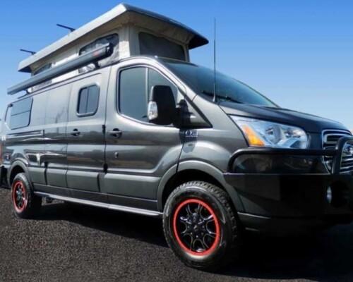 Smortsmobile Ford Transit camper conversion