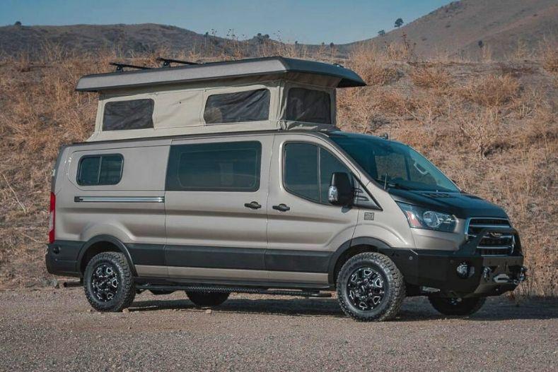 Tourig converted Ford Transit campervan