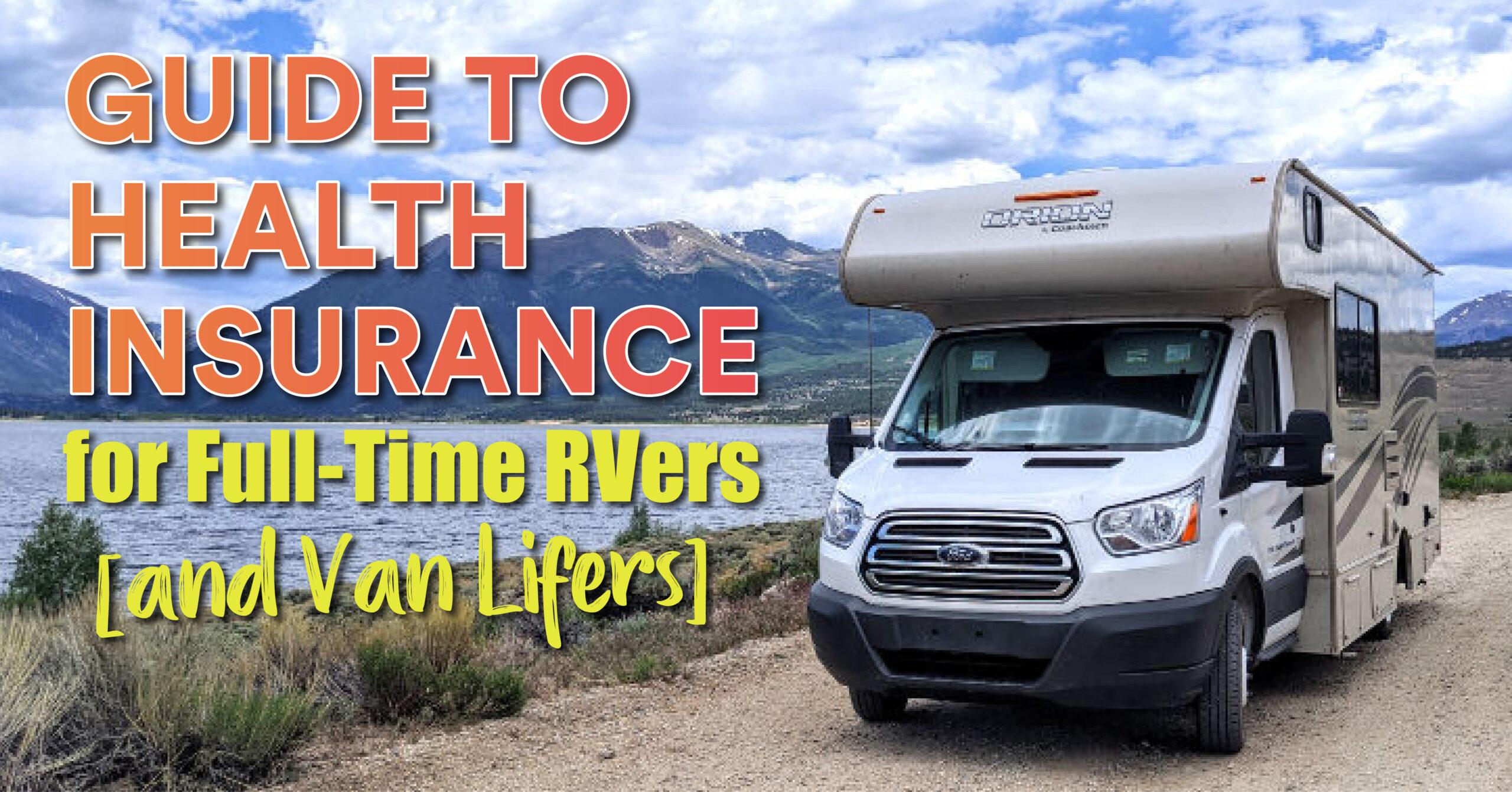 health insurance for RVers