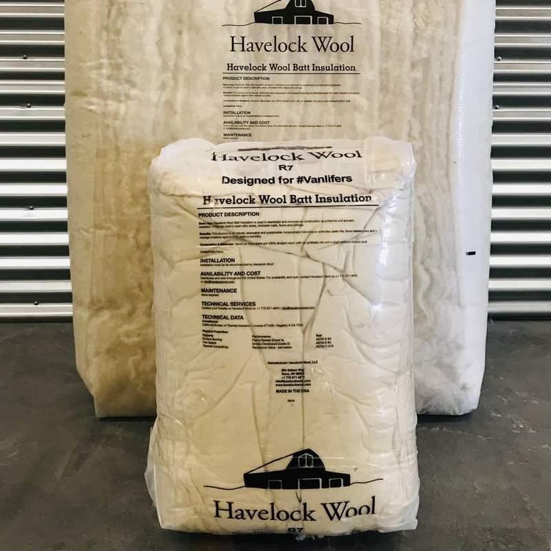 Havelock Wool Van Insulation