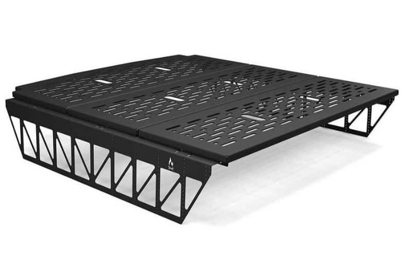 Flatline Van company's platform bed for cargo van conversion