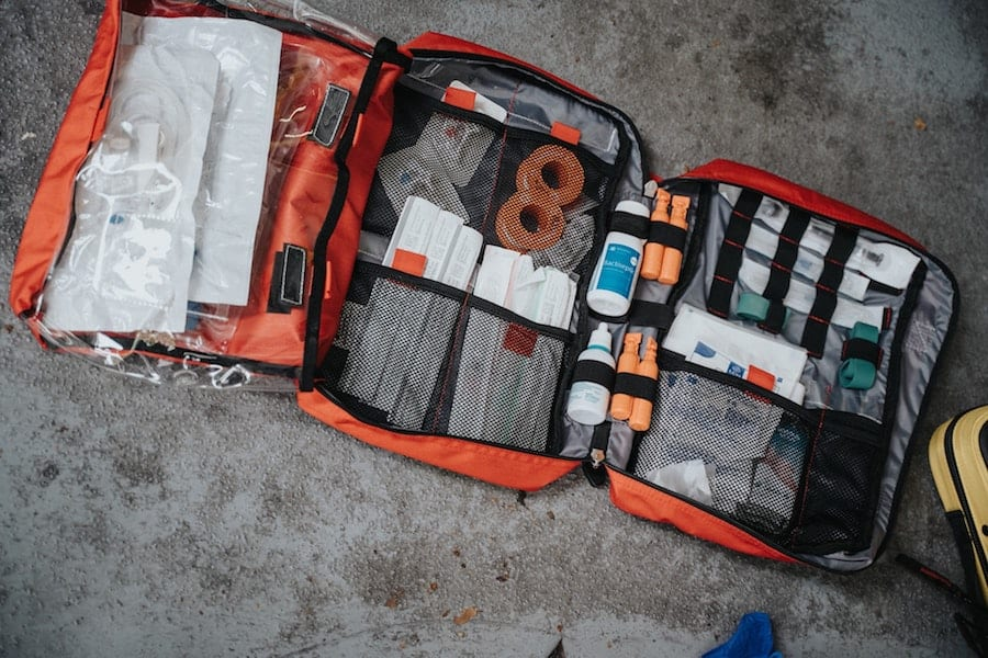 overland gear list first aid kit
